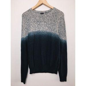 🌵3/$30 American Eagle Prep Fit Blue Ombré Sweater